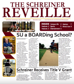 Cover of the Reveille